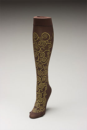 Trouser socks in BroGold_KLIMT