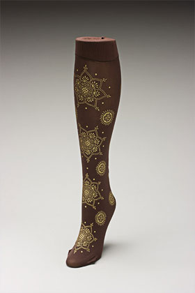Trouser socks in BroGold_MEHNDI